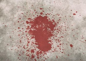 blood stain